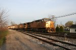 Westbound powder river train on CSX