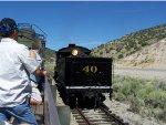 Ghost train - Engine 40 Nevada Northern Railway