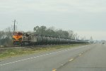 KCS 4048 pushing the cans