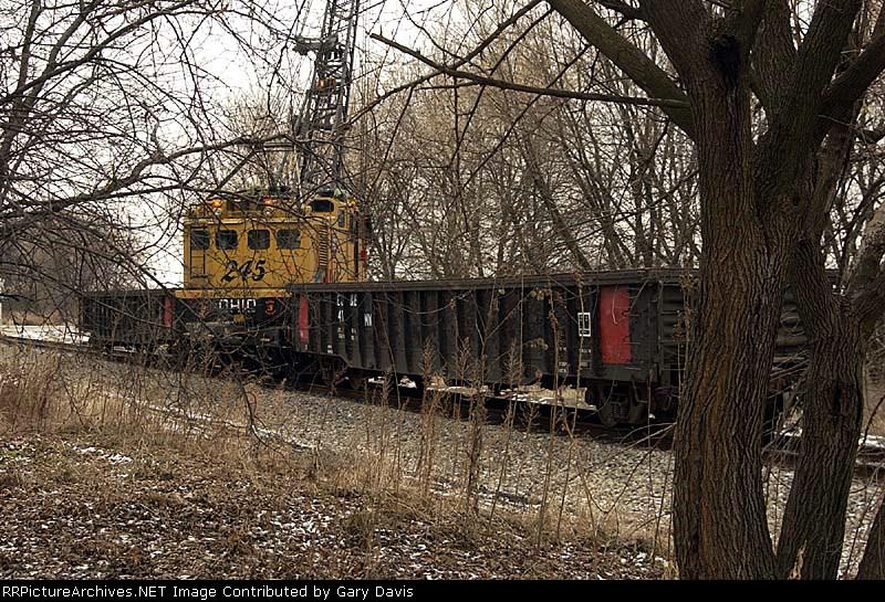 EJ&E Crane #245