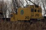 EJ&E Ohio Crane # 245