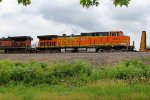 BNSF 5621 Roster shot of the 2nd unit.
