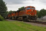 BNSF 7397 Rolls a stack train EB down the transcon!