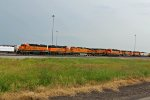 BNSF 2026 And other Waite for service in Galesburg!