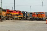 KCS 4788 And Csx power roll into the yard.