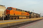 BNSF 7297 4th unit out on this Sb grain train.