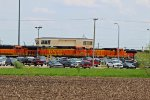 BNSF 500 Waits for work in Galesburg IL.