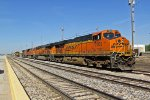 BNSF 7253 Power sitting in Fort Madison Ia.