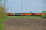 BNSF 2016 And more power from the yard!!!