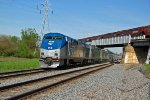 AMTK 90 Heads up Amtrak #5 out of galesburg IL.