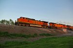 BNSF 4320 Takes lite power EB.
