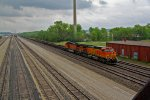 BNSF 4379 Takes a Baretable Wb.