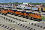 BNSF 6126 All Coal Power Ac power In Galesburg.