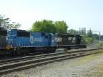 NS 3288(SD40-2) EX CONRAIL NOW NS 5424(SD50)