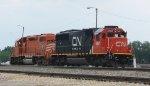 EJ&E 670 and CN 5467