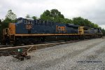 CSX Q275-11 works at CSX Memphis Jct. Yard