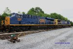 New ES44AC 3097 trails on Q275-11