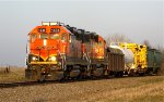 BNSF 1536 and 2351