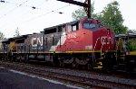 CN C40-8W #2162 on Q410-10