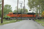 BNSF Northbound Coal Train