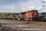 CP leads a CSX oil train