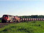 060606016 Southbound DM&IR pellet train departs United Taconite at South Fairlane