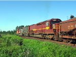 060606017 Southbound DM&IR pellet train departs United Taconite at South Fairlane