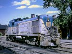 D&H 4113 at Rouses Point, New York