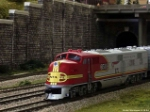 Superchief passing city