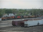 Locomotives at Joliet Yard Fueling Area