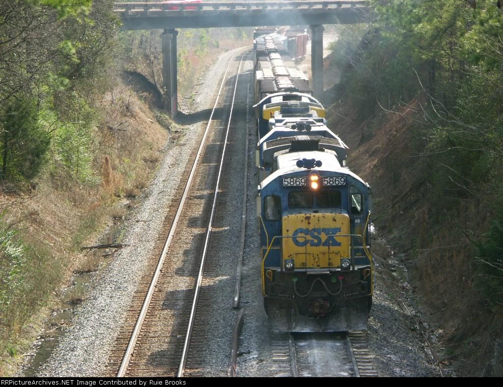 CSX 5869