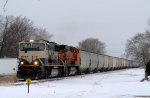 Eastbound BNSF on the IC&E