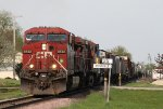 Westbound CP Manifest Passing MP 25