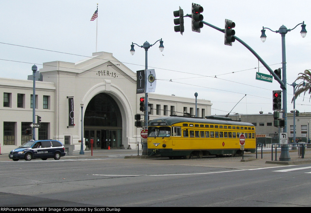 San Francisco Trolley at Pier 15