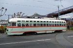 San Francisco Trolley at Pier 39