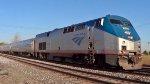 Amtrak on Track 1