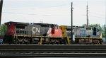CN & CSX in Frontier Yard