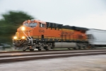 BNSF 6548 - don't ask how I did it, but I love this shot.