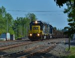 W015 loaded rail.