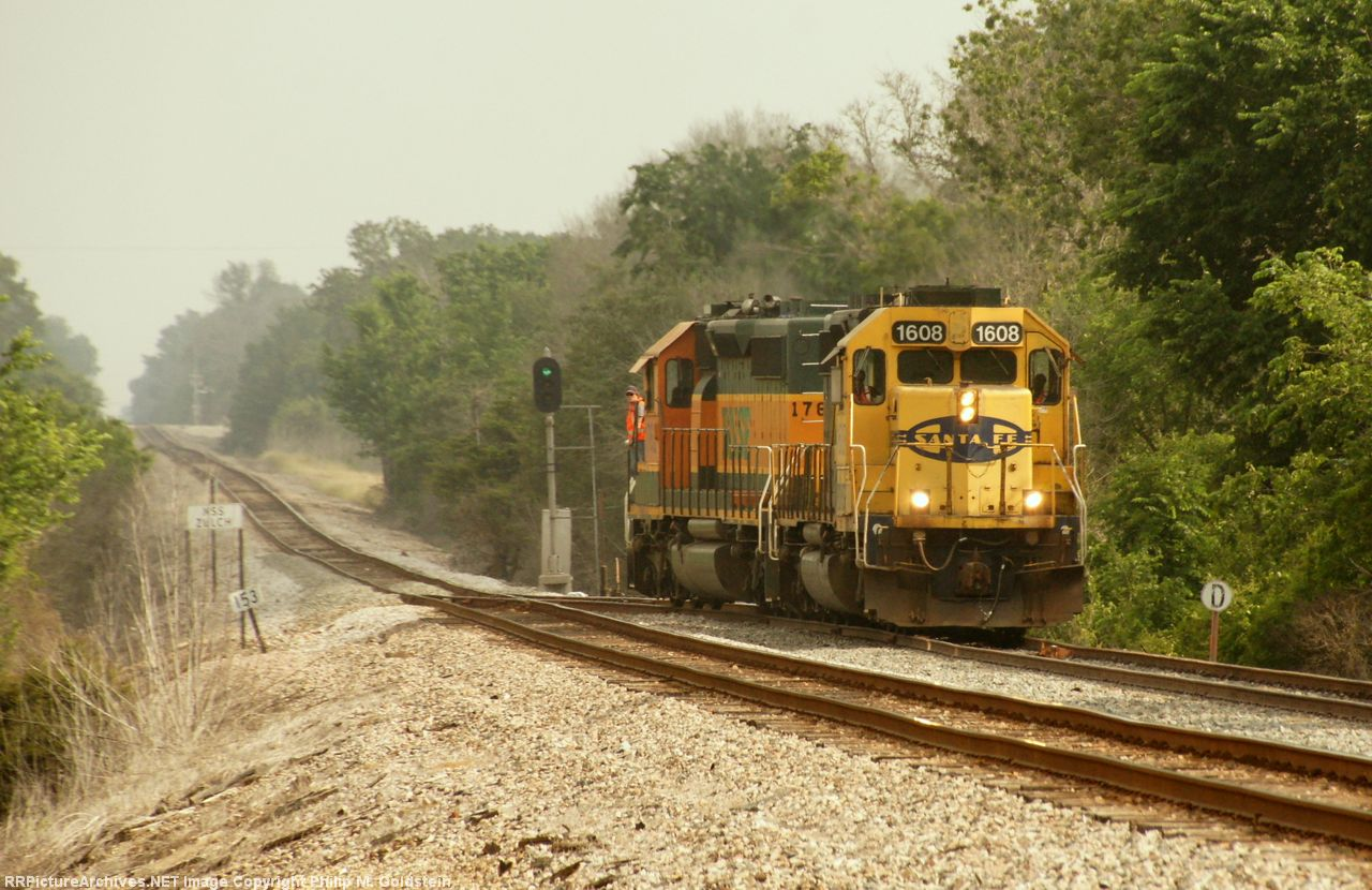 BNSF 1608 - My favorite image from my trip to Texas!
