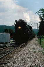 NKP 587 on Asheville,NC-Bulls Gap,Tn trip