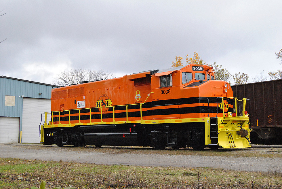 HESR 3038 is the first and only current g&W HESR Locomotive.