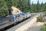 Amtrak 6 on Donnor Pass