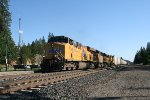 Union Pacific Reefer Train in Colfax, CA