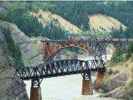 CN 8941 Pusher Crossing the Fraser River