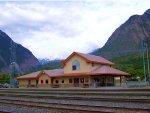 Lillooet, BC Train Station