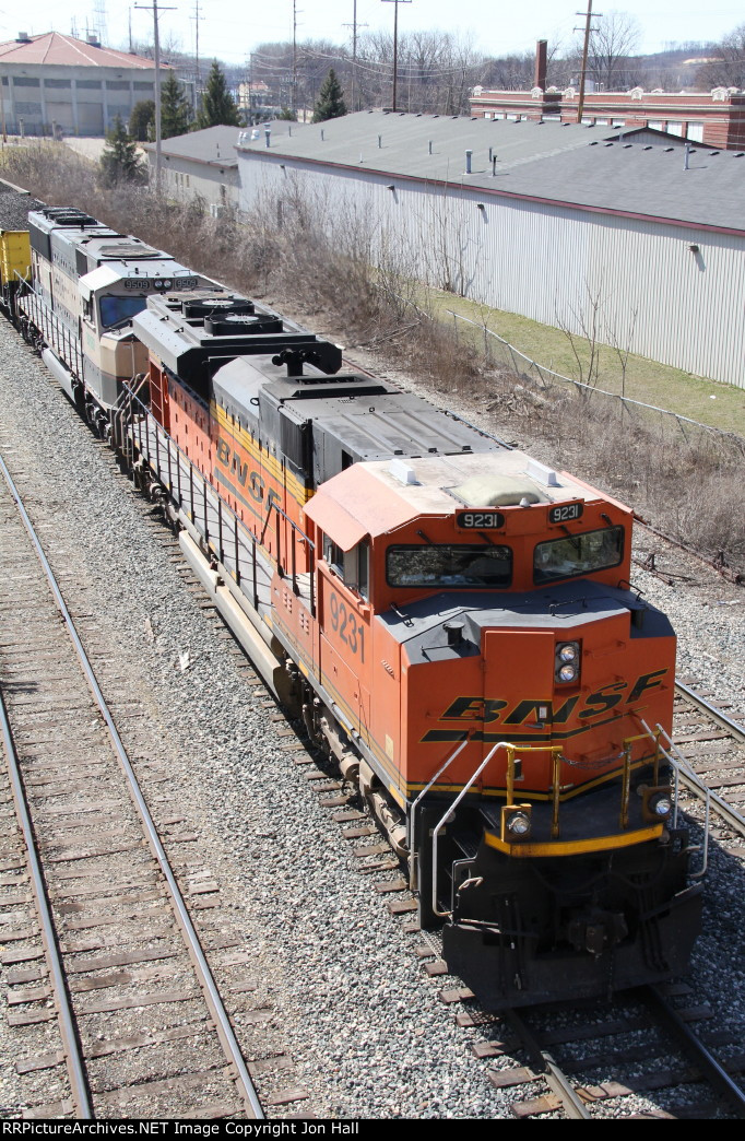 BNSF 9231 & 9509