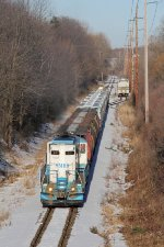 MMRR 24 climbs east with cars for Amway and King Milling in tow