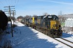 CSX 8520 rolls through Grandville with Q326-02