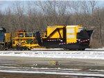 Long Island Railroad's new spreader, LI 4230
